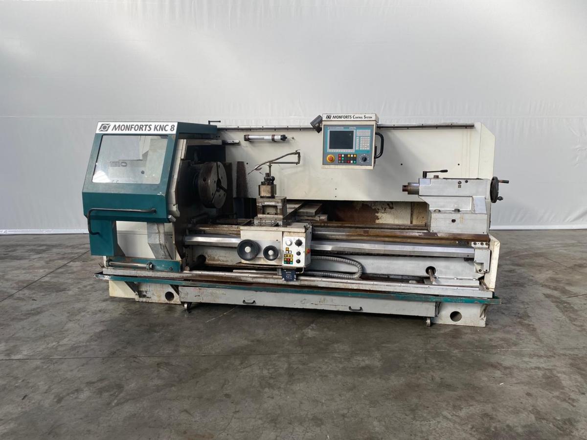 gebrauchte  CNC Drehmaschine Monforts KNC 8