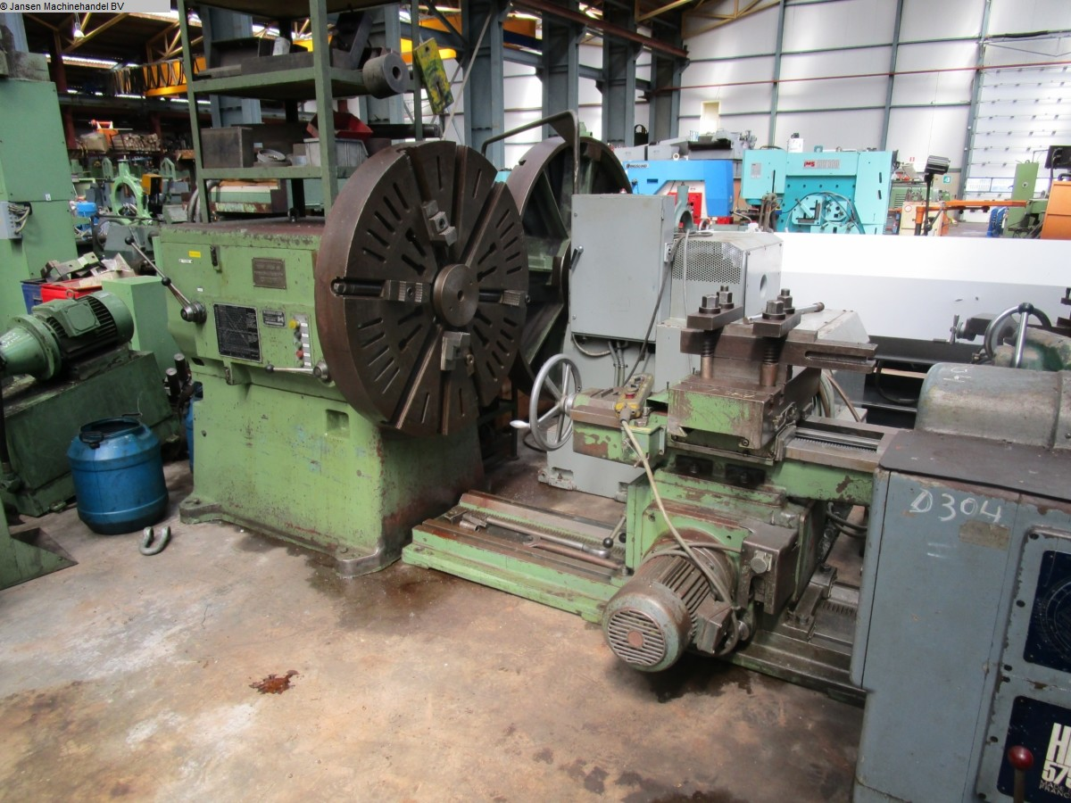 used  Facing and Centering Lathe Heyligenstaedt