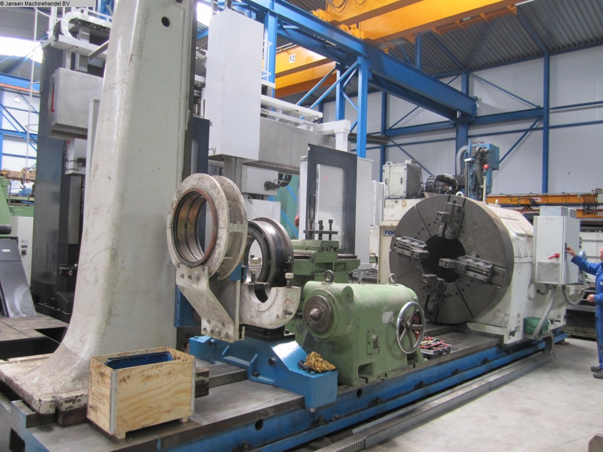 used  Facing and Centering Lathe Heyligenstaedt DW1000