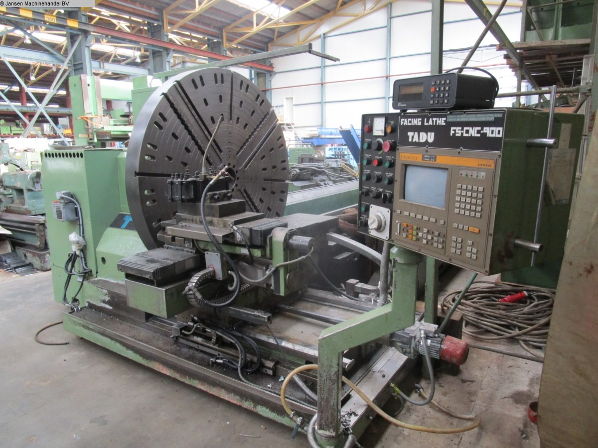 used  Facing and Centering Lathe Tadu FS-CNC-900