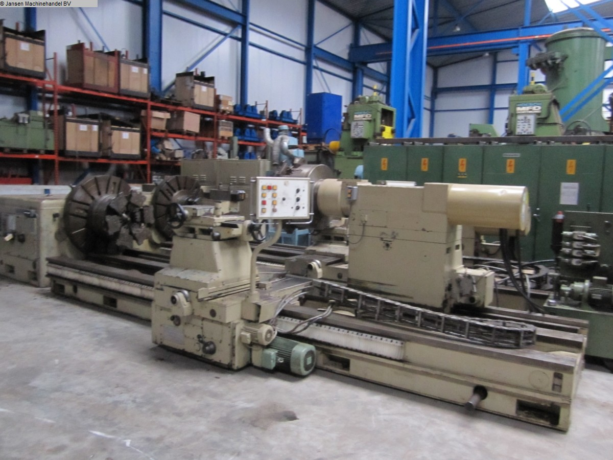 used  Facing and Centering Lathe WMW Niles DPS1400...DPS1800/1