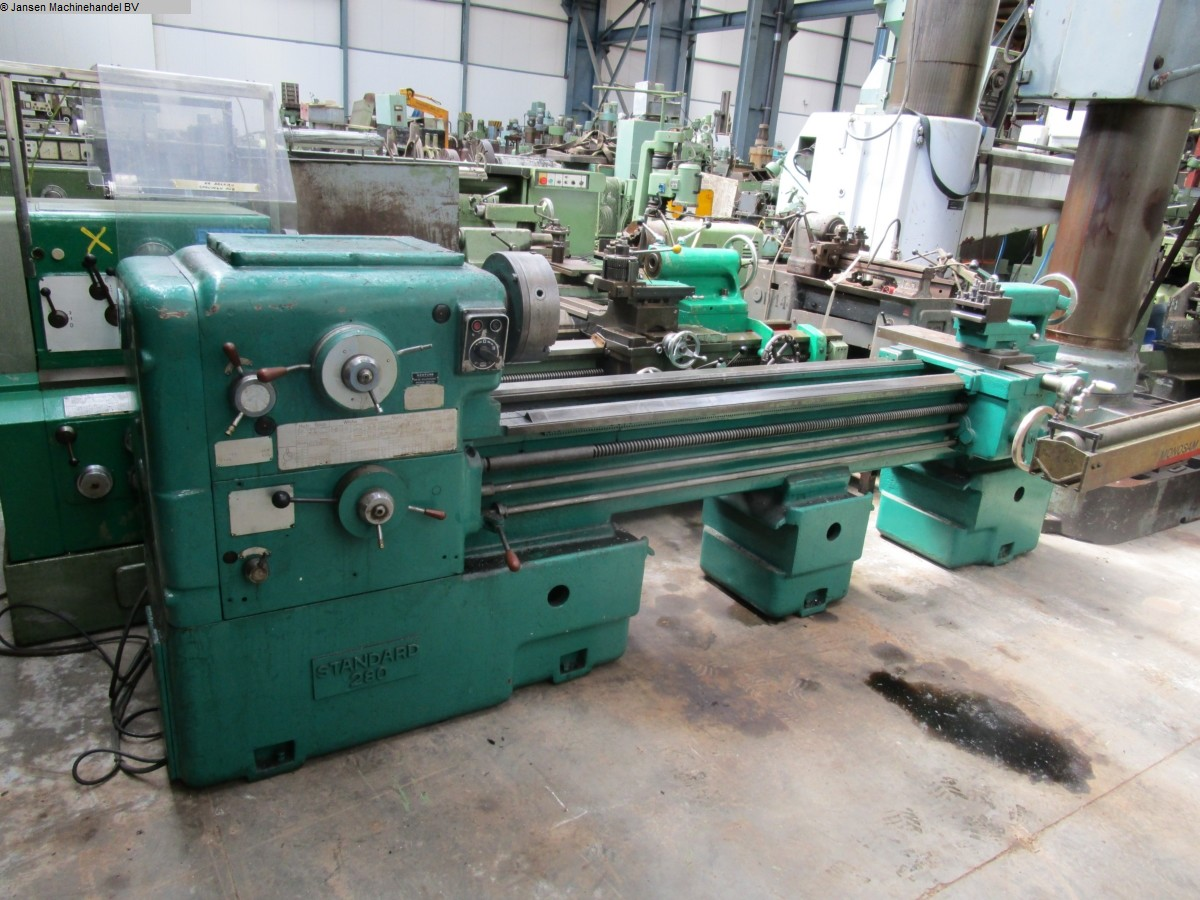 used  lathe-conventional-electronic Doria Standard 280
