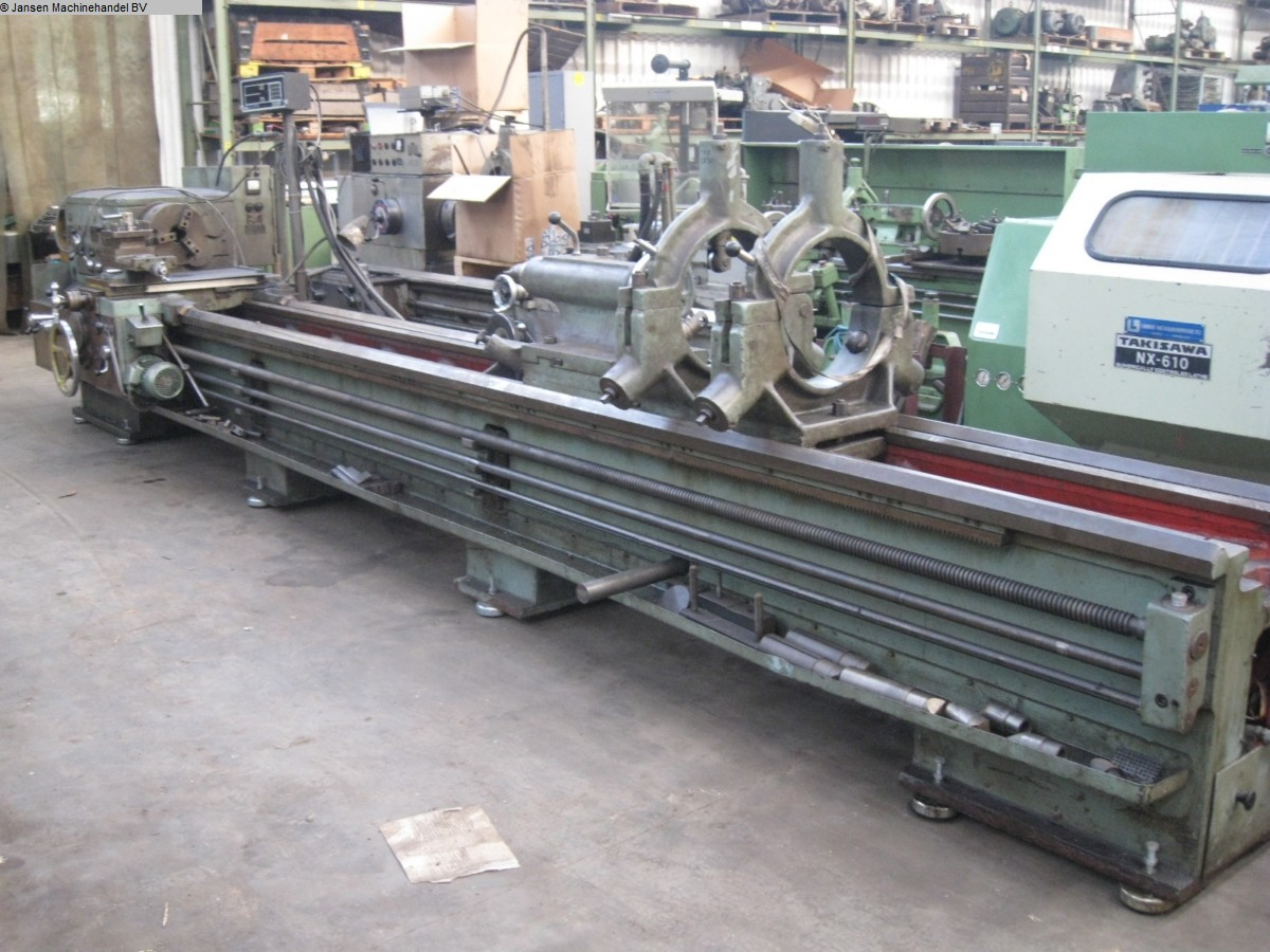 used  lathe-conventional-electronic Stanko PT2506