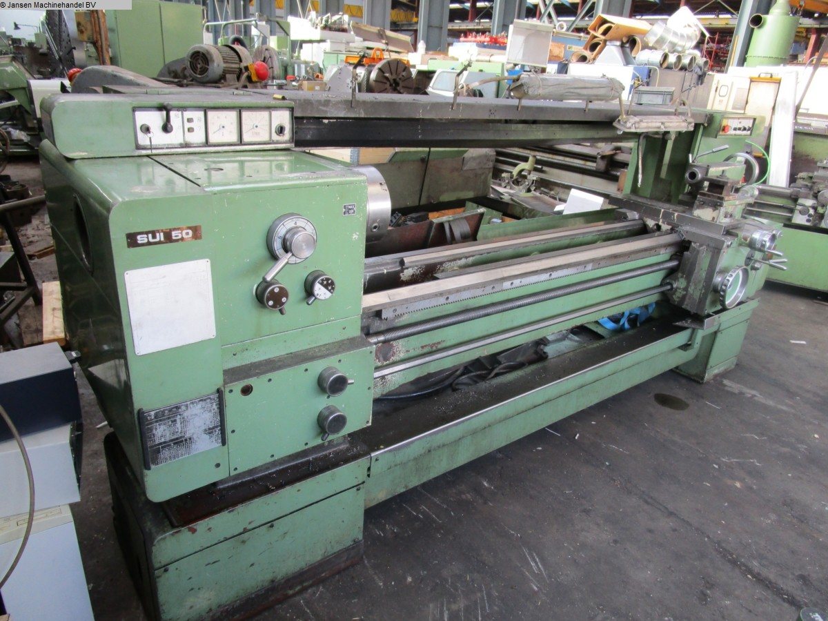 used  lathe-conventional-electronic Tos SUI 50