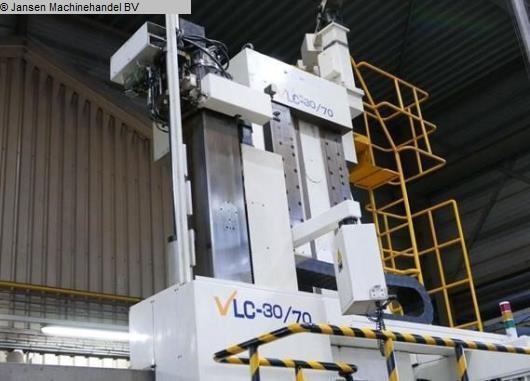 gebrauchte Drehmaschinen Karusselldrehmaschine - Einständer Hankook VLC 30/70