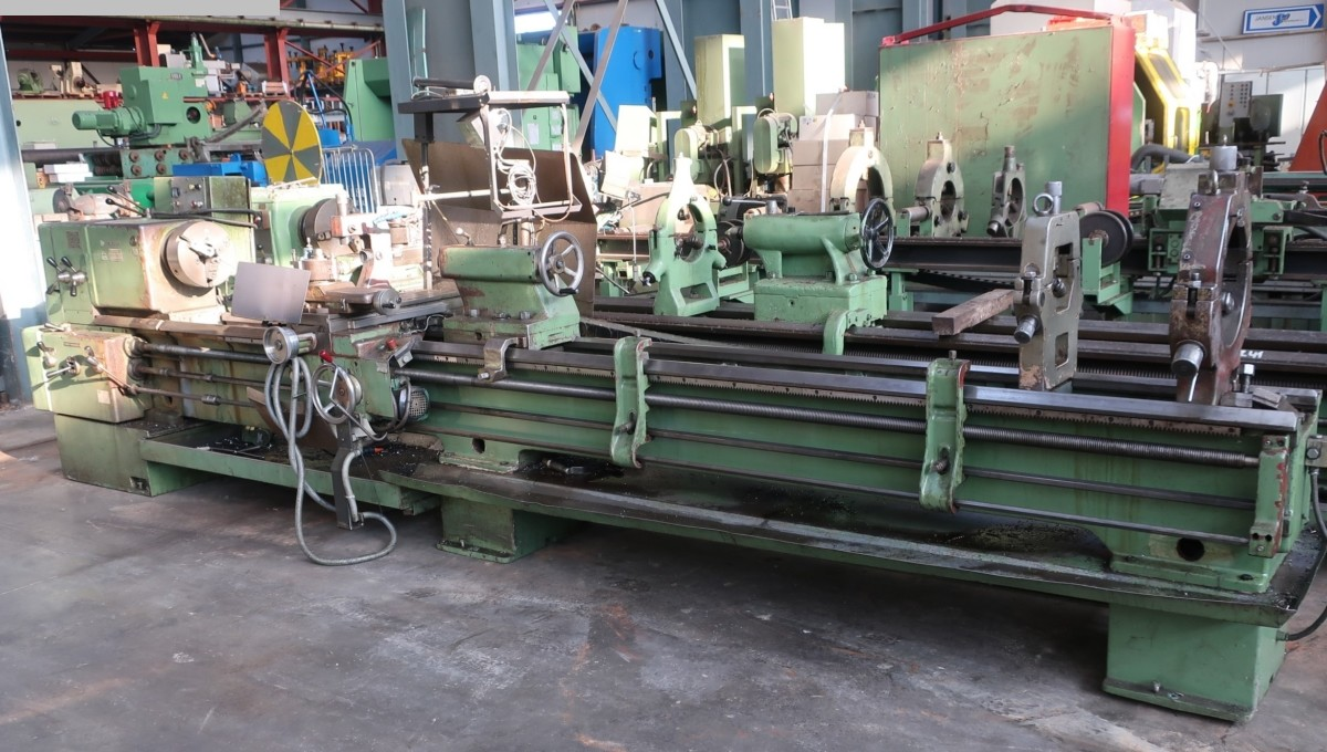 used Lathes lathe-conventional-electronic Tos SN 63 C