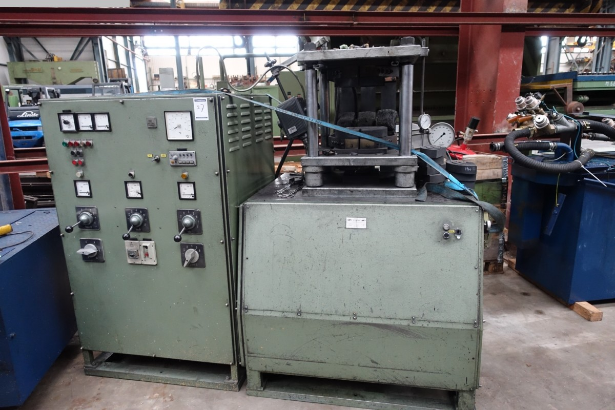 used Presses Compact Powder Press Fritsch DSP 35 D