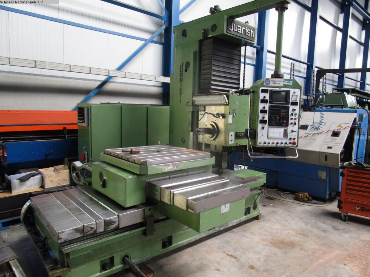used Boring mills / Machining Centers / Drilling machines Ram-Type Floor Boring and Milling M/C JuaristiZ/W MDR 105 CNC