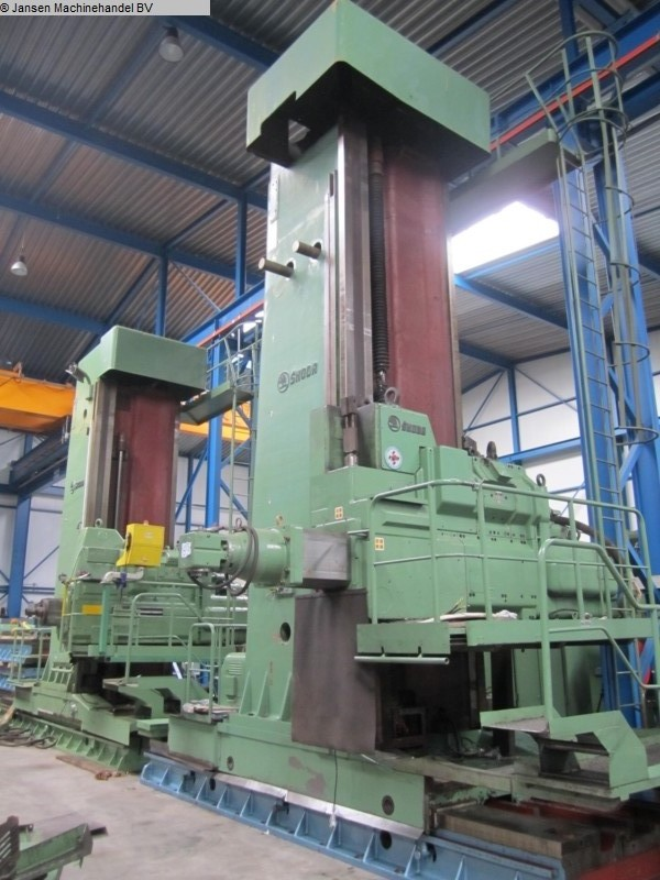 used Boring mills / Machining Centers / Drilling machines Ram-Type Floor Boring and Milling M/C Skoda W160HC
