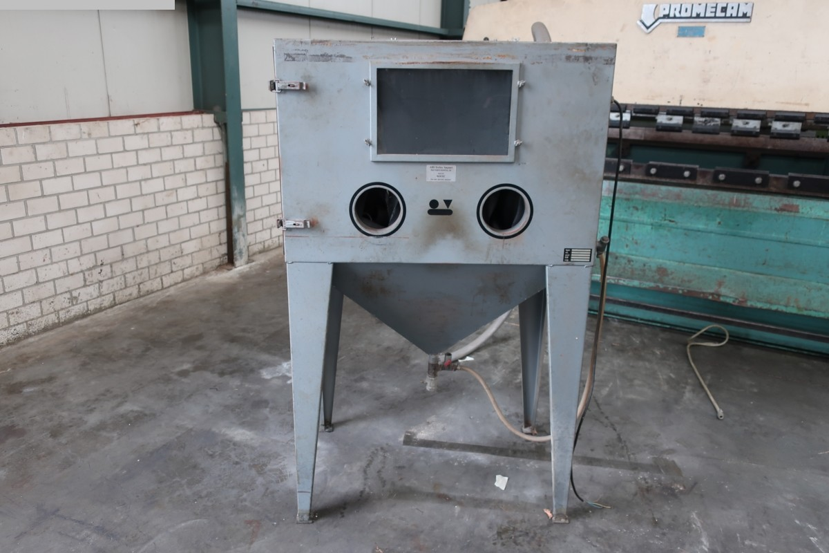 gebrauchte verschiedene Einrichtungen Sandstrahlanlage ABS ABS 100/70/70 N-W