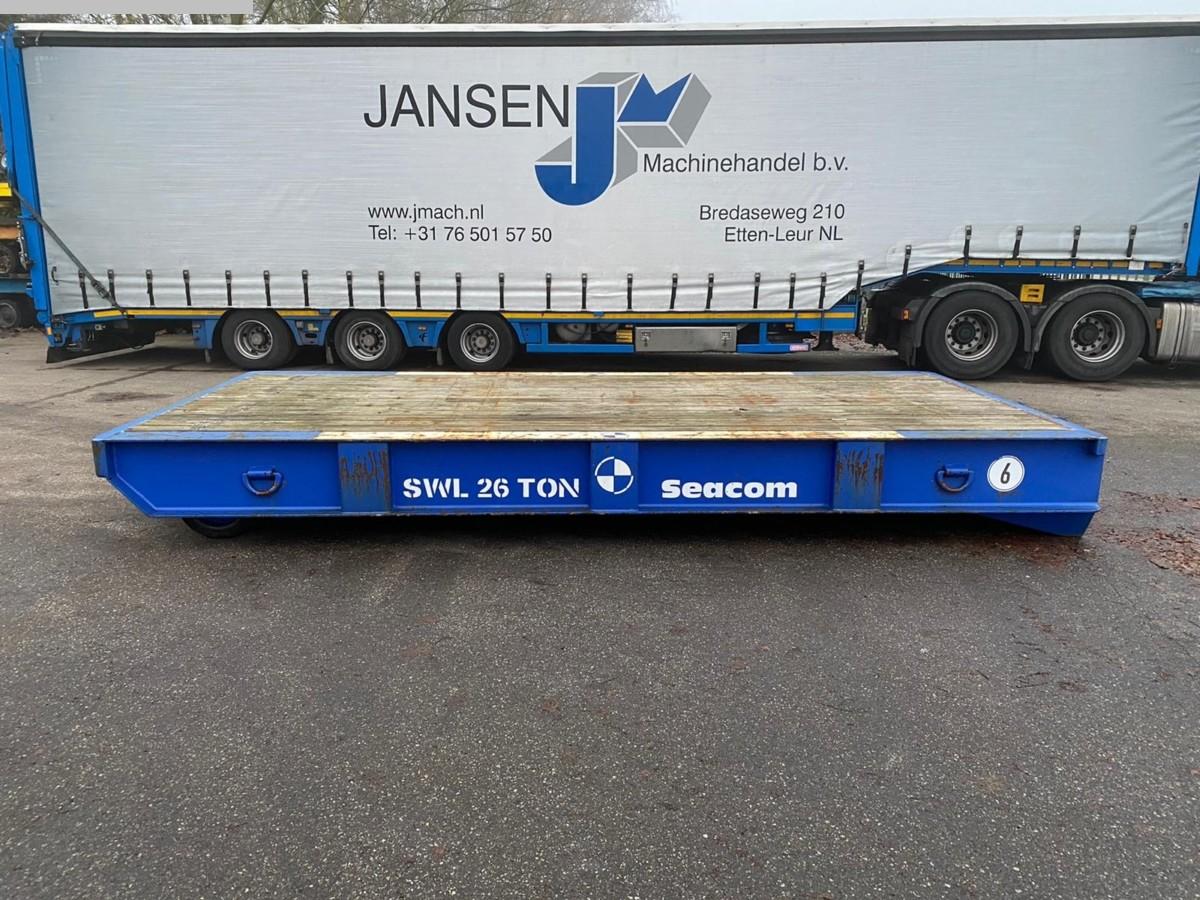 gebrauchte verschiedene Einrichtungen Schwerlastanhänger Seacom RT 5,25M - 26T