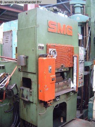 gebrauchte Pressen und Bördelmaschinen Tiefziehpresse - Hydraulik SMG DS 100