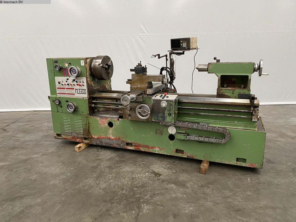gebrauchte  Drehmaschine-konventionell-elektronisch TACCHI MT400