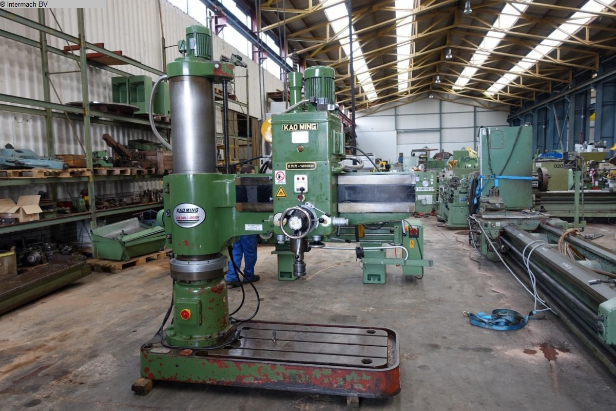 used  Radial Drilling Machine KAO MING Lux-drill-1250 H