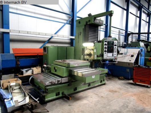 used  Table Type Boring and Milling Machine JUARISTI MDR105 cnc