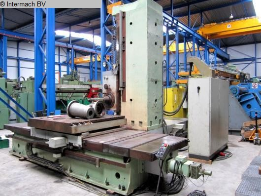 used  Table Type Boring and Milling Machine TOS WHN 13.4 C