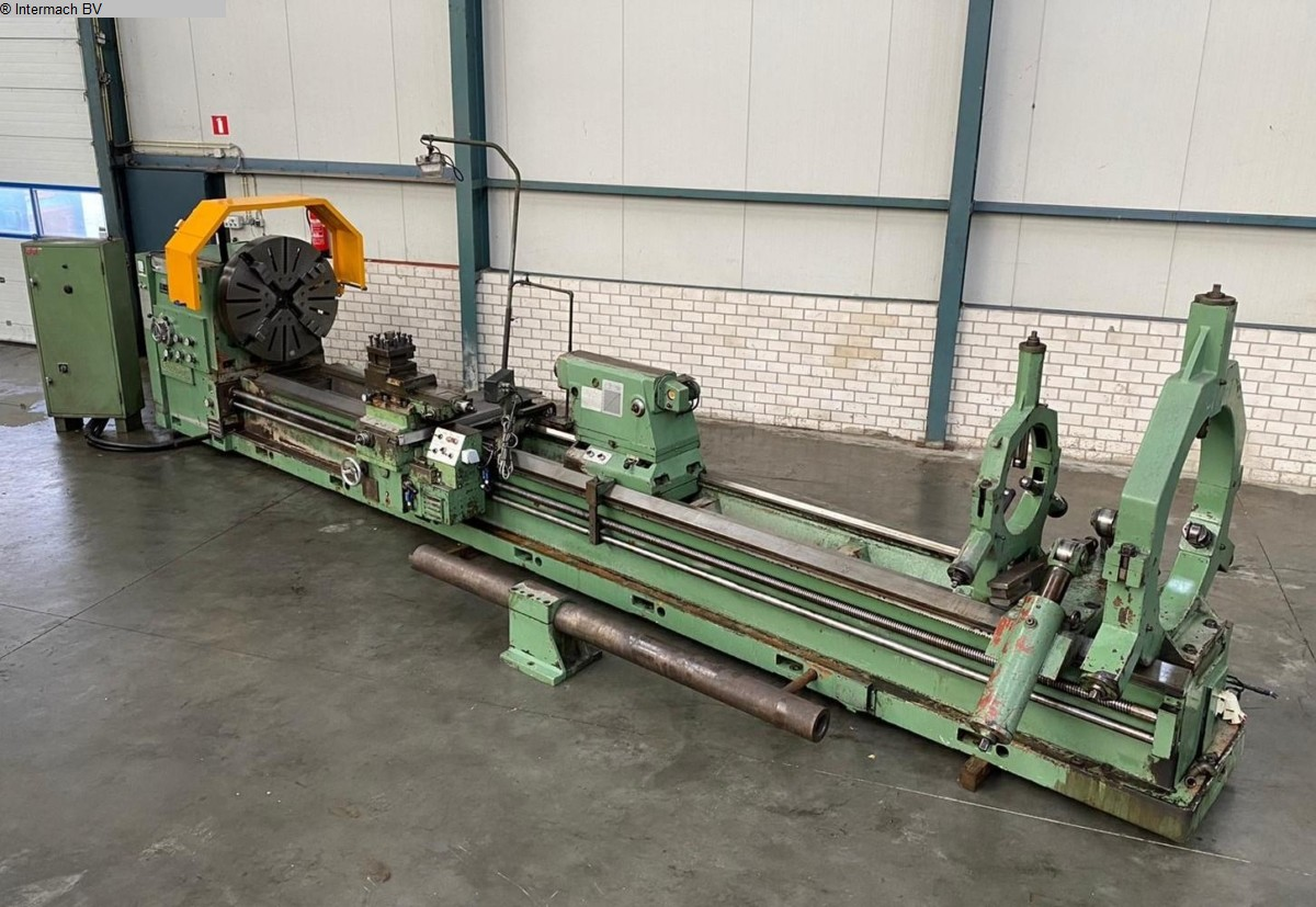 used  lathe-conventional-electronic COLOMBO VUP-2S