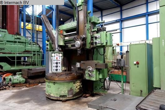 gebrauchte Drehmaschinen Karusselldrehmaschine - Einständer MORANDO KN17