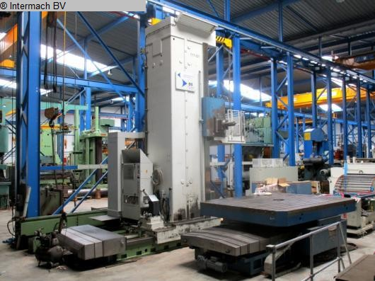 gebrauchte Bohrwerke / Bearbeitungszentren / Bohrmaschinen Plattenbohrwerk - Horizontal WOTAN Rapid 5C