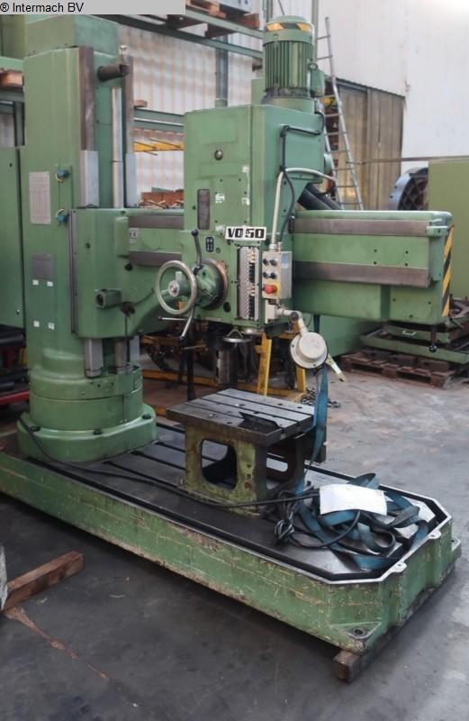 gebrauchte Bohrwerke / Bearbeitungszentren / Bohrmaschinen Radialbohrmaschine TOS VO 50