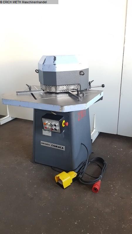 gebrauchte Blechbearbeitung / Scheren / Biegen / Richten Ausklinkmaschine COMACA E.H.N 260 - 6 / 8