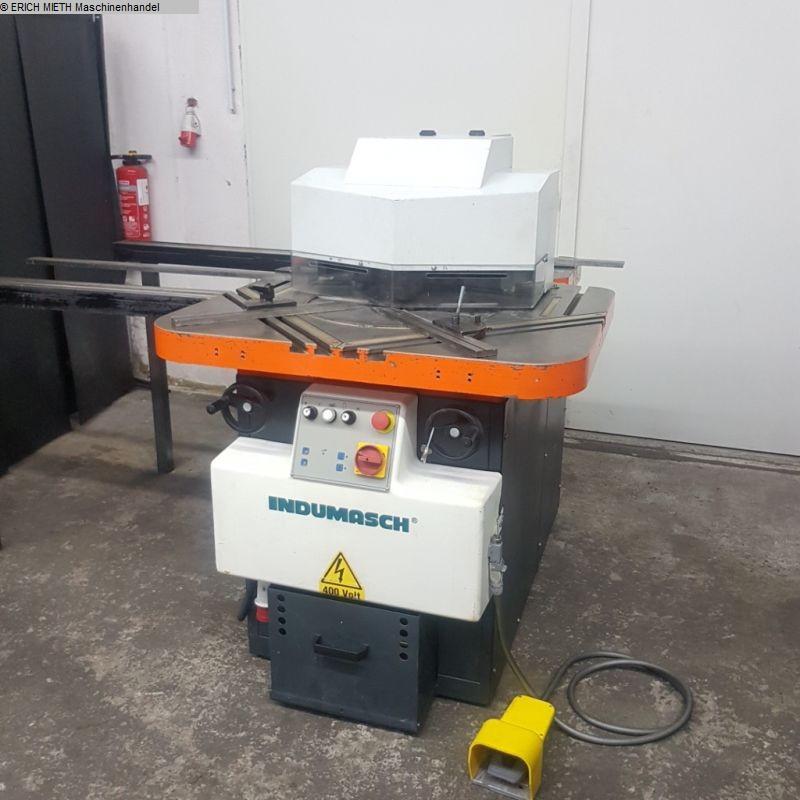gebrauchte Blechbearbeitung / Scheren / Biegen / Richten Ausklinkmaschine INDUMASCH VA 200-6 Kombi