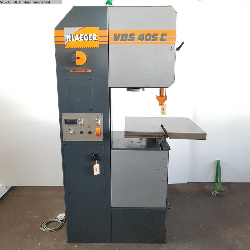 used Saws Band Saw - Vertical KLAEGER VBS 405 E