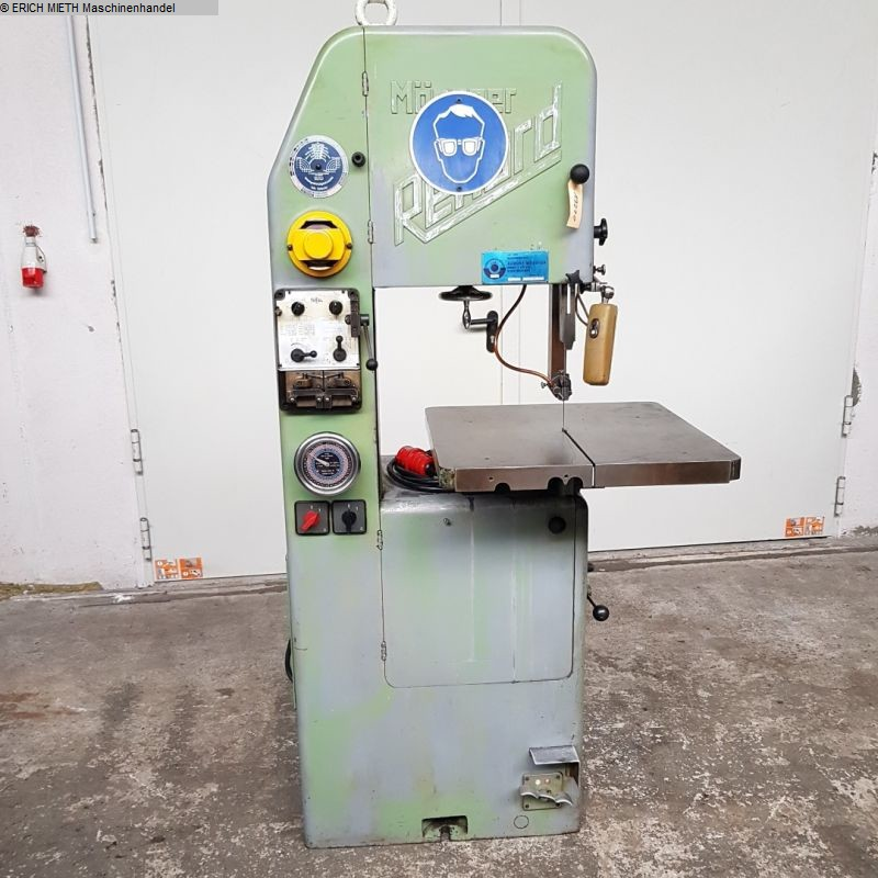 used Saws Band Saw - Vertical MÖSSNER-REKORD SSF 420
