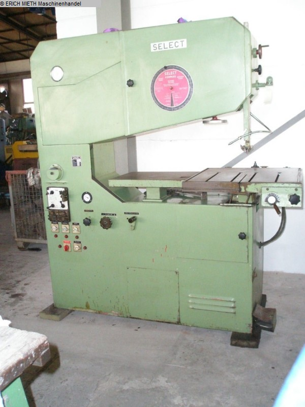 used Saws Band Saw - Vertical SELECT SU 10