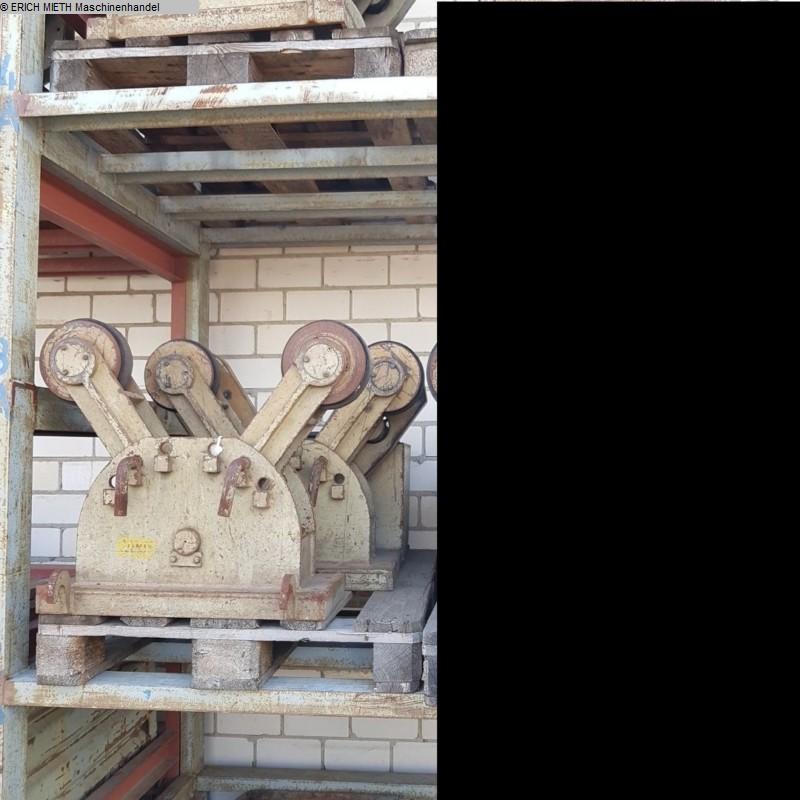 gebrauchte Blechbearbeitung / Scheren / Biegen / Richten Behälterdrehvorrichtung DEUMA-HEITZE H 01