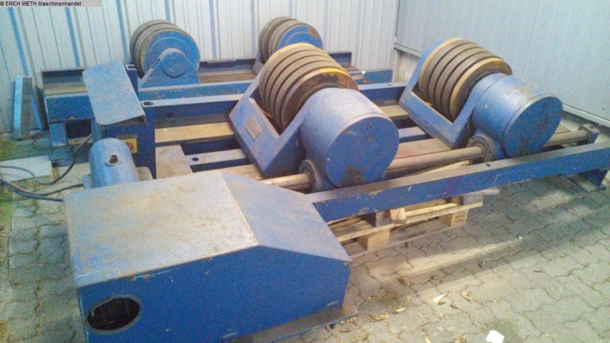 gebrauchte Blechbearbeitung / Scheren / Biegen / Richten Behälterdrehvorrichtung DEUMA - HEITZE W 12 M