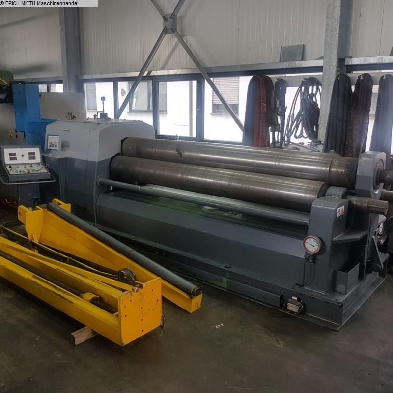 gebrauchte Blechbearbeitung / Scheren / Biegen / Richten 3-Walzen - Blechbiegemaschine COMAC CA 3 - 3015