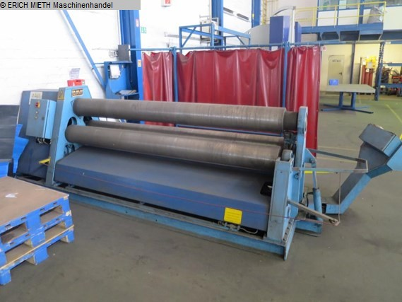 gebrauchte Blechbearbeitung / Scheren / Biegen / Richten 3-Walzen - Blechbiegemaschine DAVI MCO 3025
