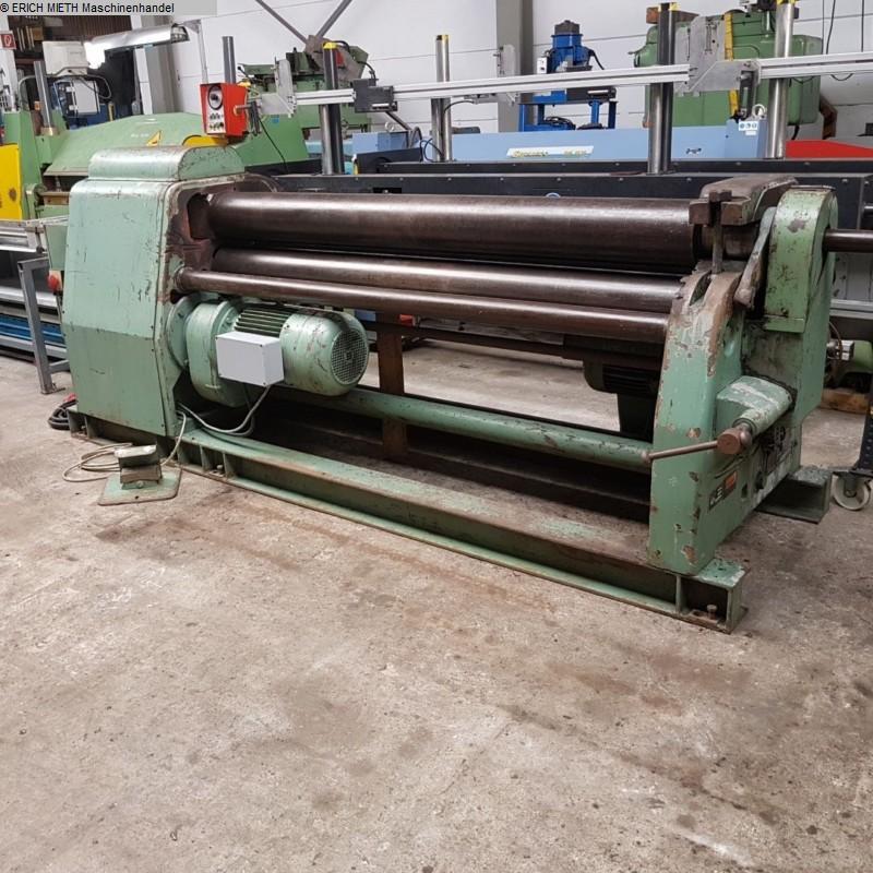 gebrauchte Blechbearbeitung / Scheren / Biegen / Richten 3-Walzen - Blechbiegemaschine FASTI 109 / 20 / 10