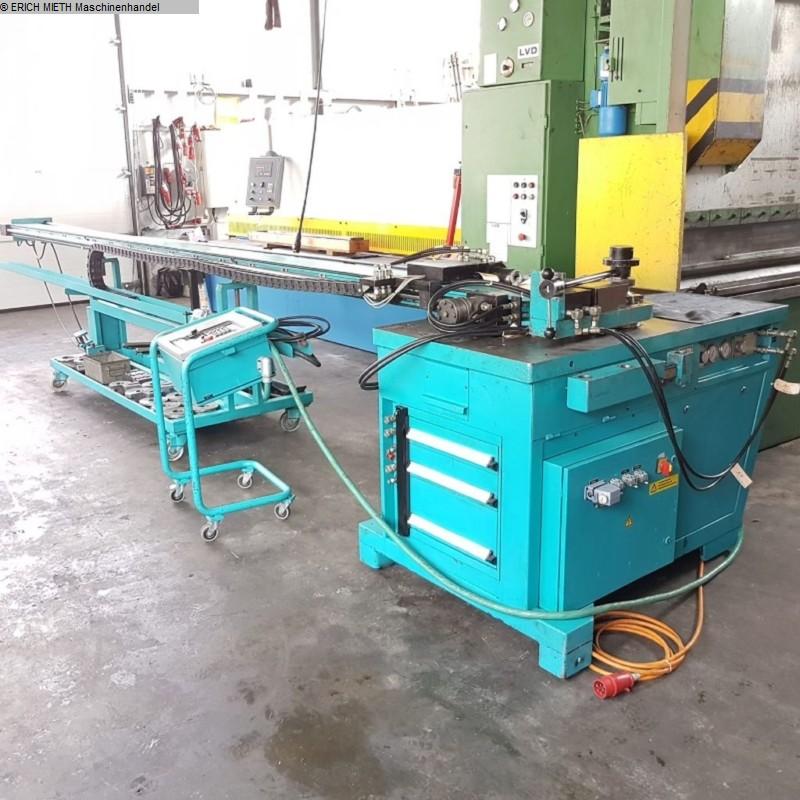 gebrauchte Blechbearbeitung / Scheren / Biegen / Richten 3-Walzen - Blechbiegemaschine THOMAN MAXI II