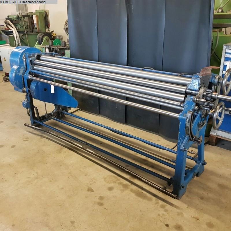 gebrauchte Blechbearbeitung / Scheren / Biegen / Richten 4-Walzen - Blechbiegemaschine RAS 44.4-420