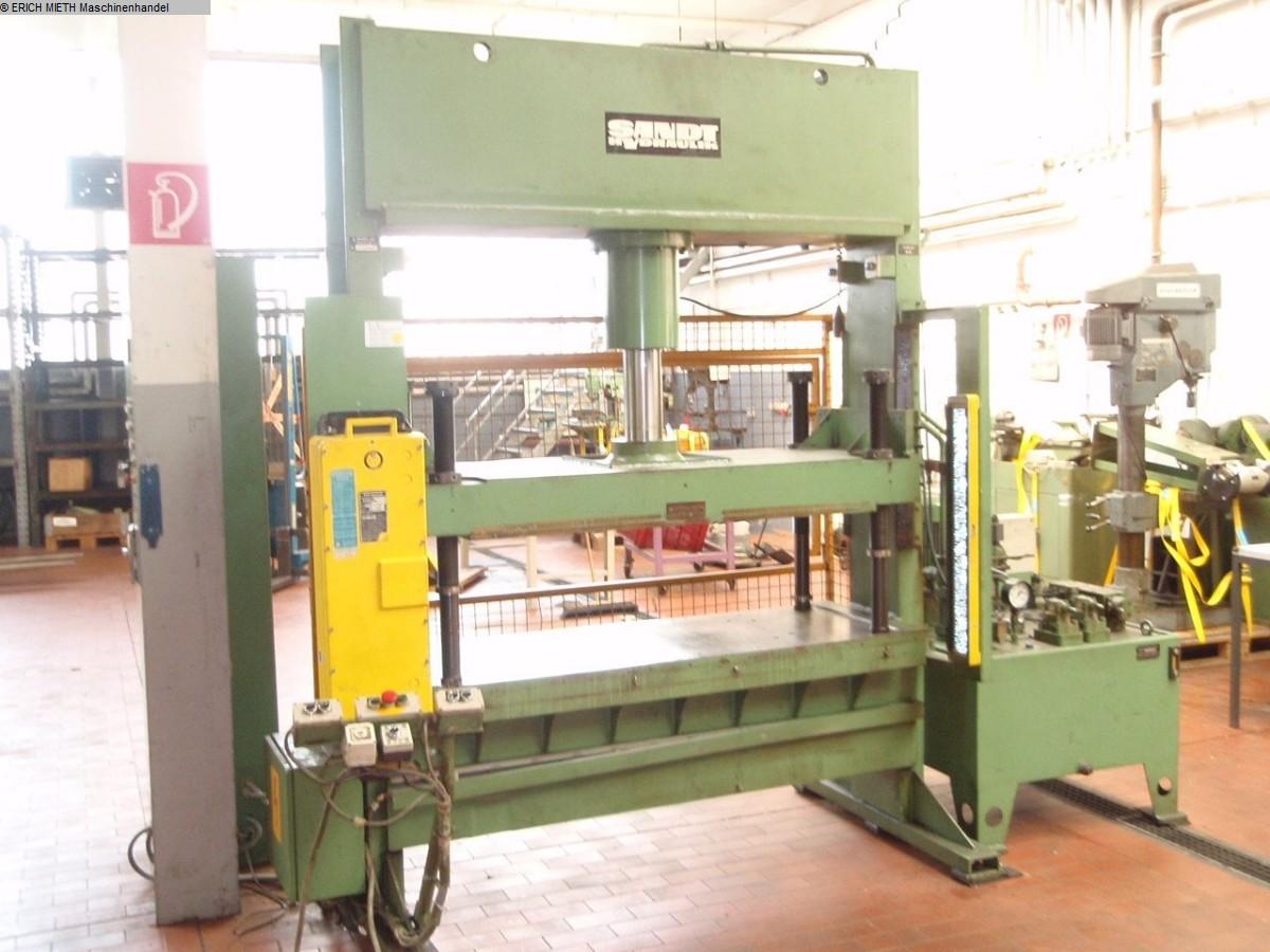 gebrauchte Pressen und Bördelmaschinen Doppelständerpresse - Hydraulisch SANDT 540