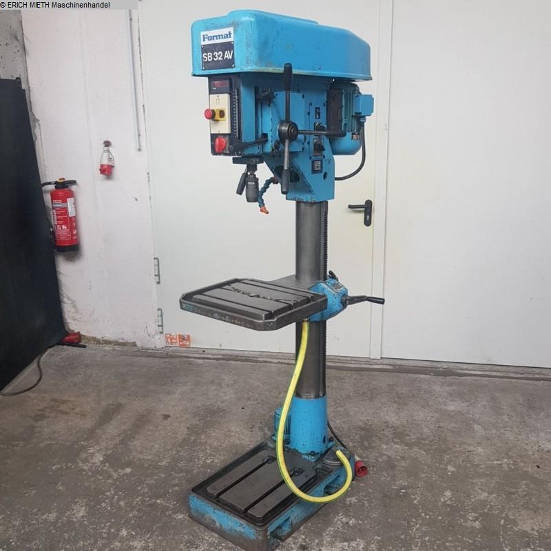 gebrauchte  Säulenbohrmaschine FORMAT SB 32 AV