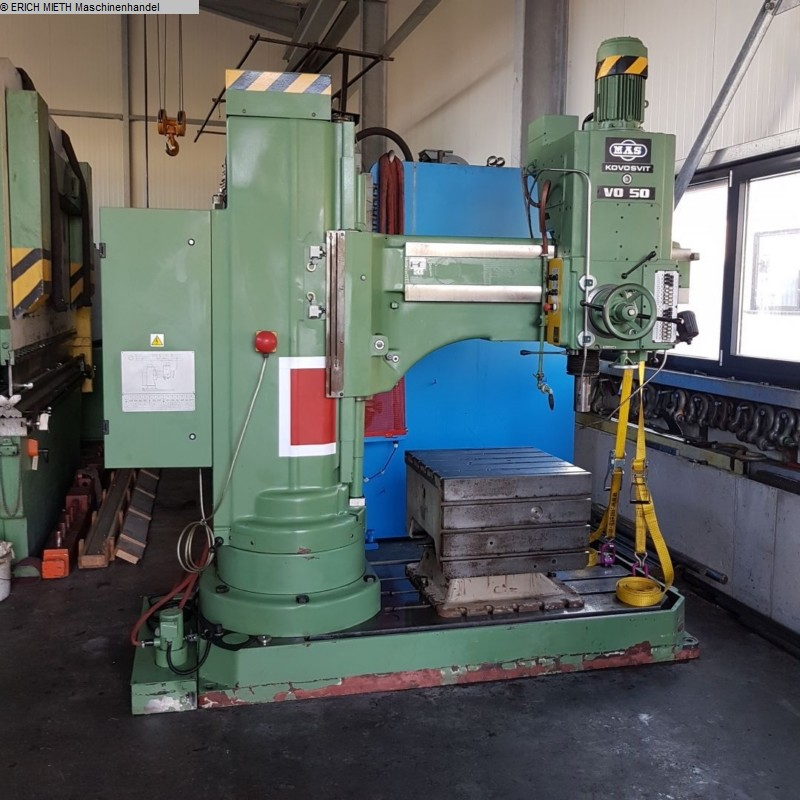 used  Radial Drilling Machine MAS VO 50 / 1250