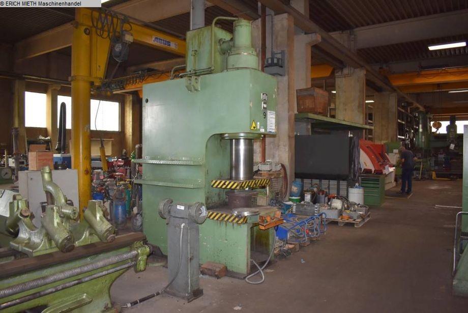 gebrauchte Pressen und Bördelmaschinen Einständerpresse - Hydraulisch ZEULENRODA PYE 160 S1
