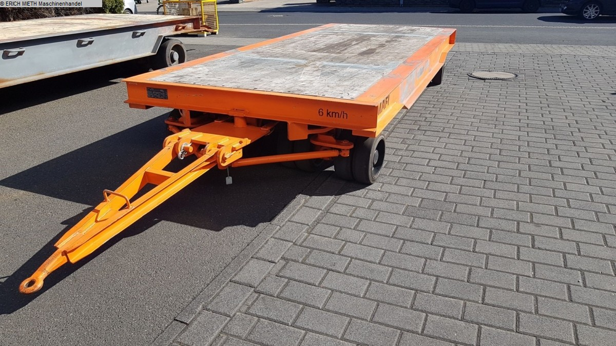 used Other attachments Heavy Goods Trailer MAFI 1170-8