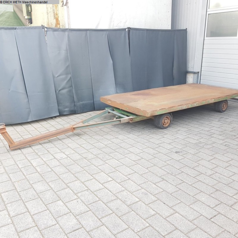 used Other attachments Heavy Goods Trailer PLAN 5000 Kg