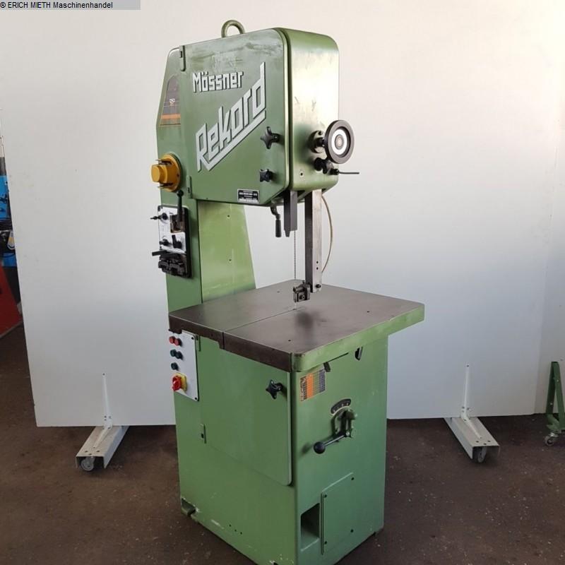 gebrauchte Holzbearbeitungsmaschinen Bandsägemaschine MÖSSNER REKORD SM 420 B
