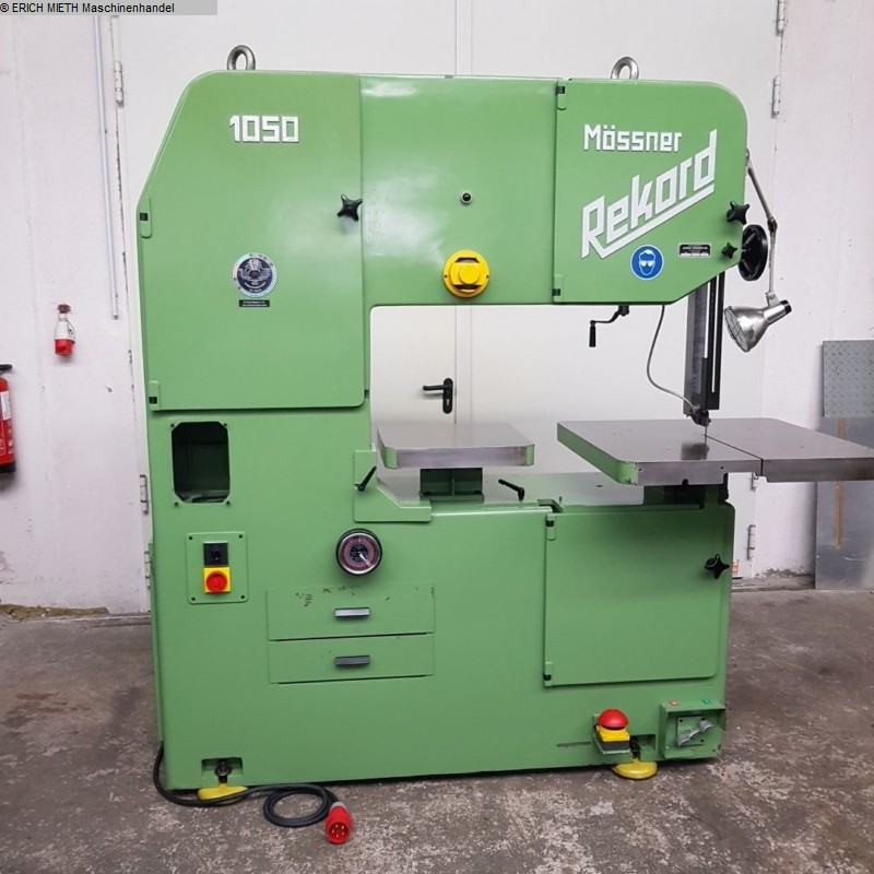 gebrauchte Holzbearbeitungsmaschinen Bandsägemaschine MÖSSNER REKORD SSF 1050