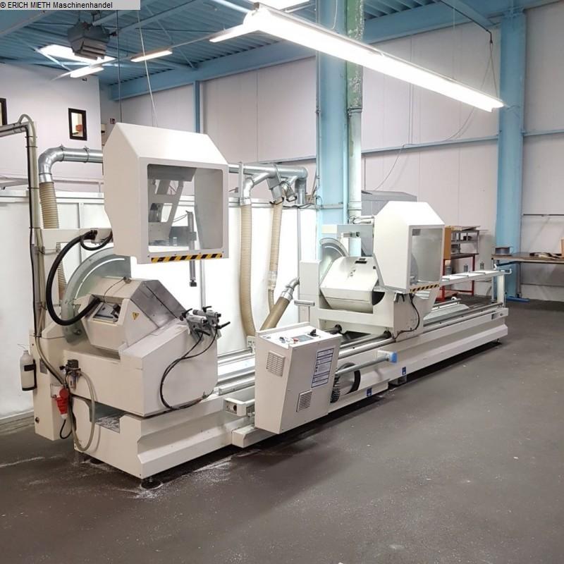 gebrauchte Holzbearbeitungsmaschinen Doppelgehrungssäge ABCD - ALTECH LOGIKA P - RV 550