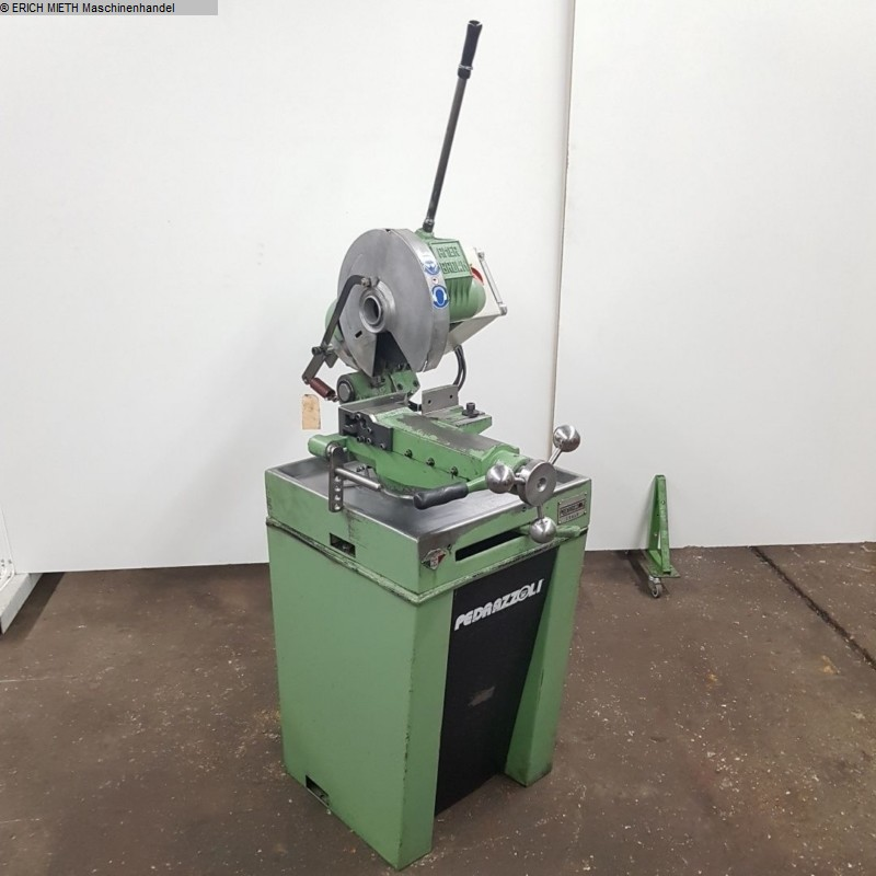 gebrauchte Holzbearbeitungsmaschinen Kapp- und Kantenfräse PEDRAZZOLI AMER BROWN