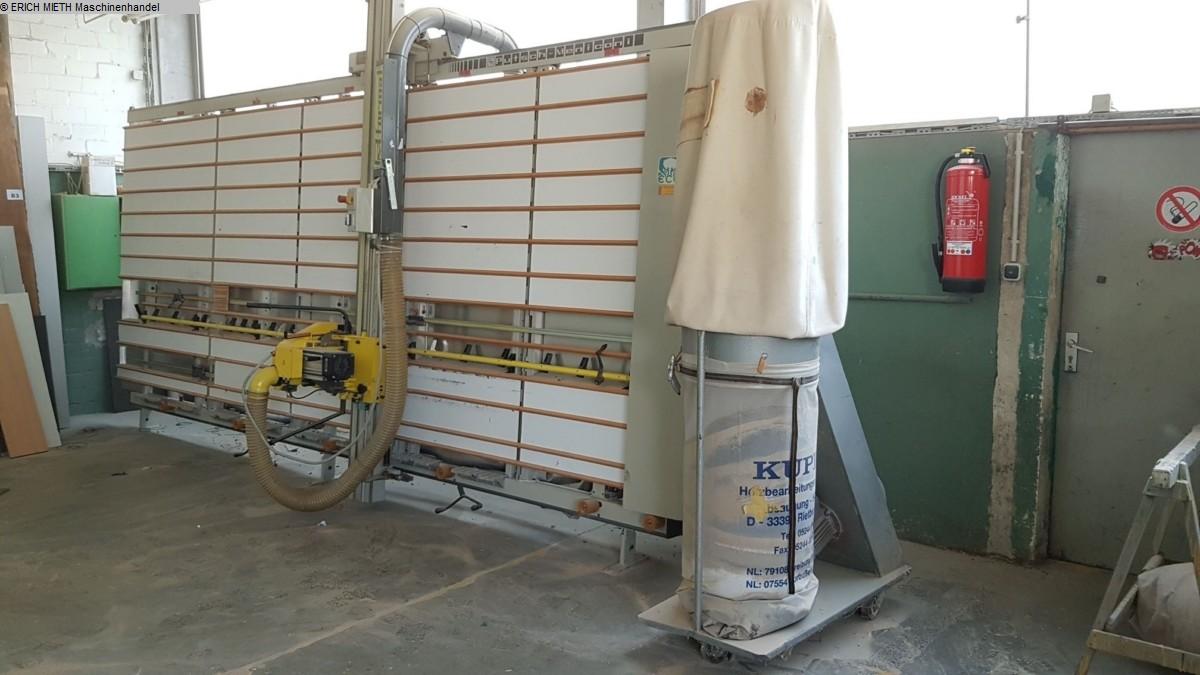gebrauchte Holzbearbeitungsmaschinen Plattensägen vertikal PUTSCH MENICONI SPV 145 ECO