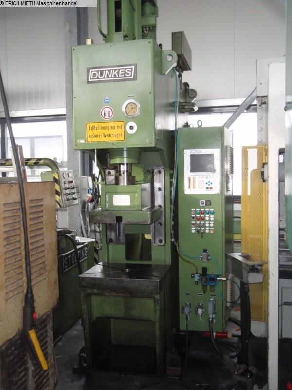 gebrauchte Pressen und Bördelmaschinen Hydraulische Presse DUNKES HZS 40