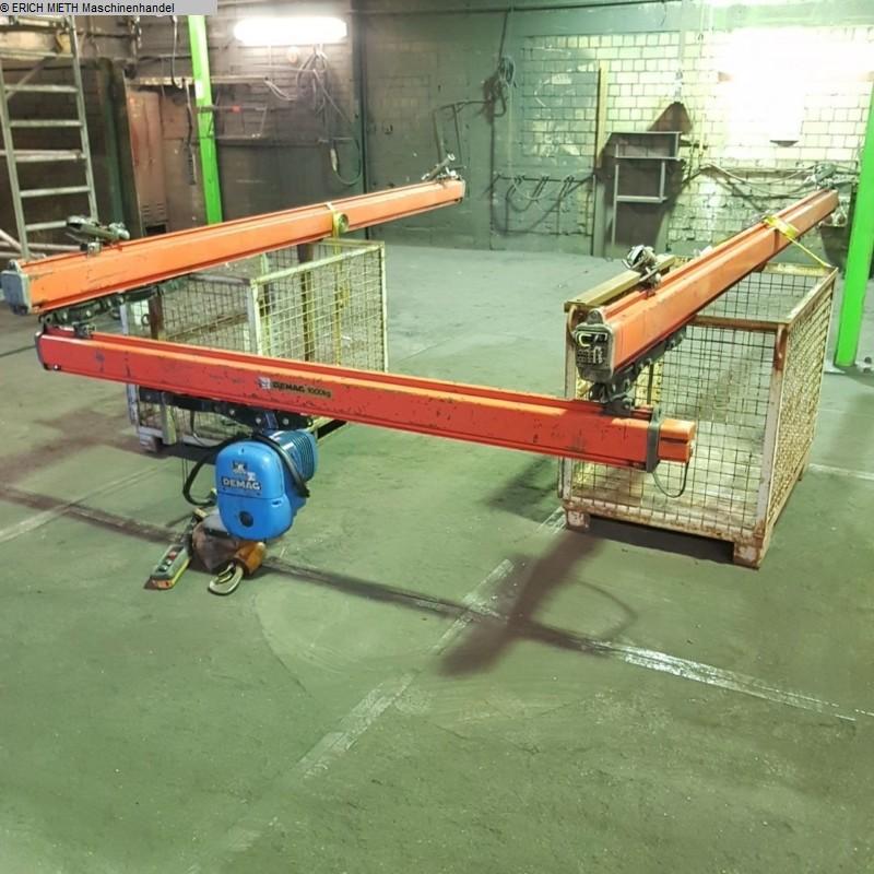 gebrauchte Förder- und Lagertechnik Krananlage DEMAG KBK