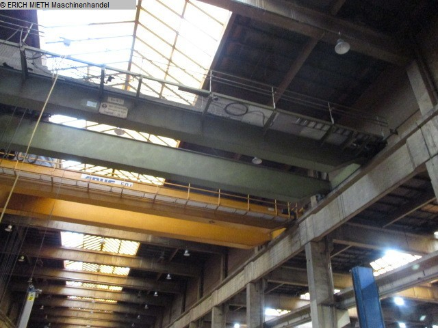 gru a ponte usato altre macchine - Double Beam DEMAG - DIKKERTMANN 25T x 19.5m